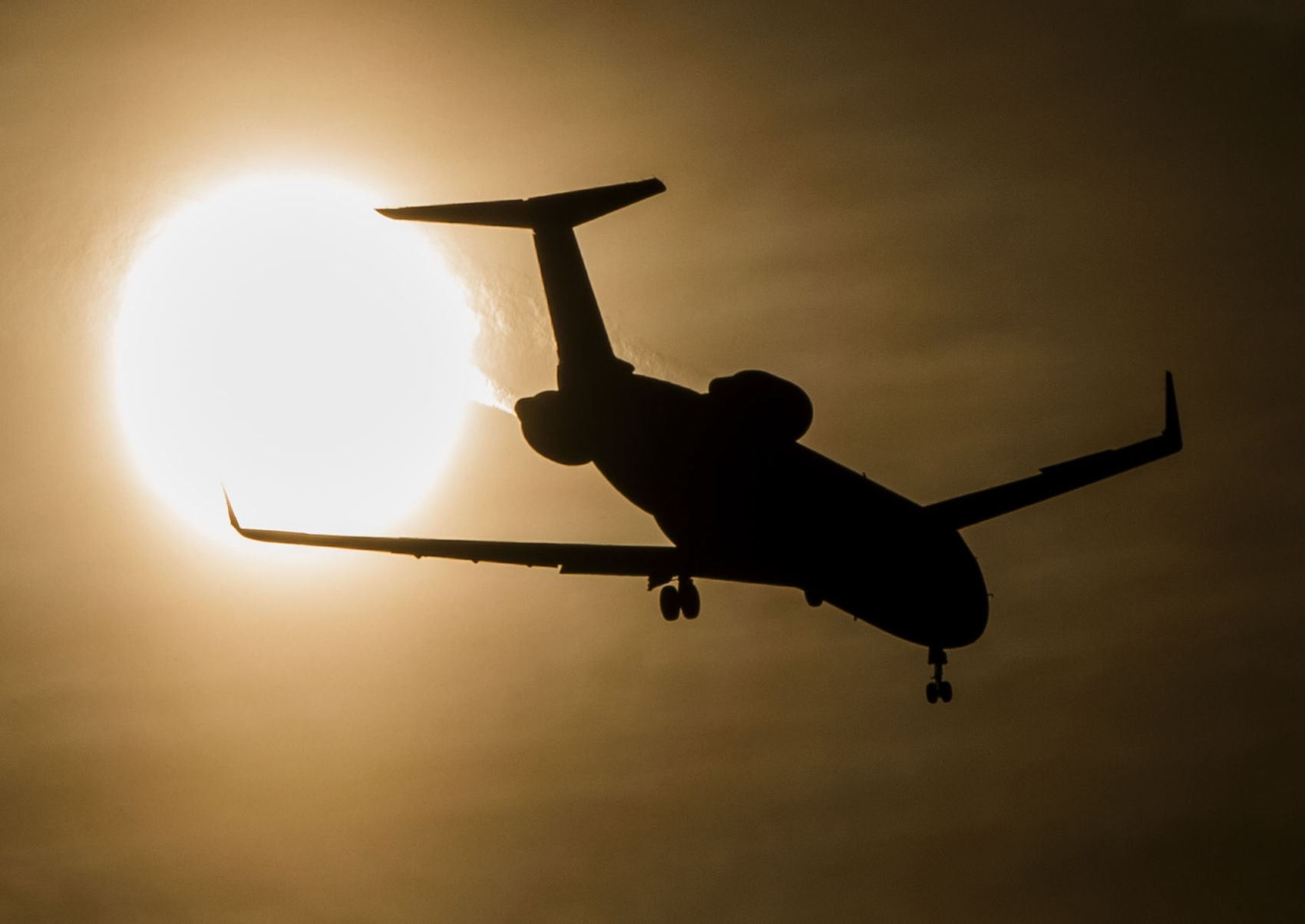 An airplane approaches South Bend International Airport as it prepares to land. Charlotte Douglas In