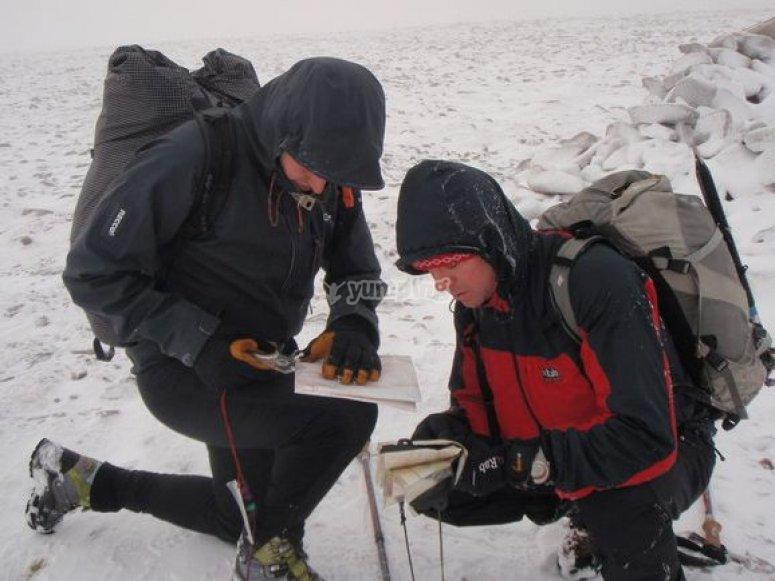 tb_Winter orienteering