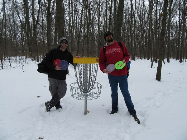 Disc Golf - Winter