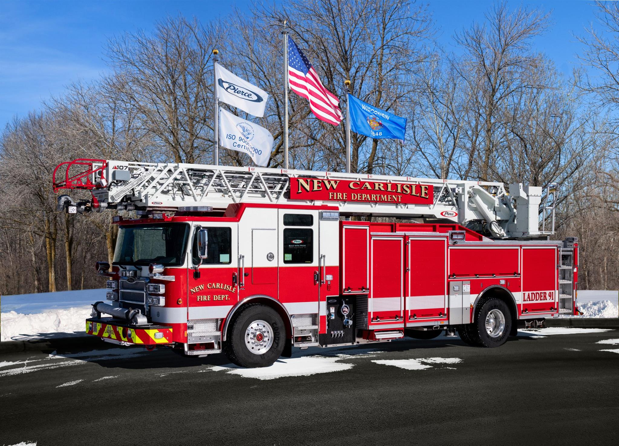 New Carlisle new fire engine