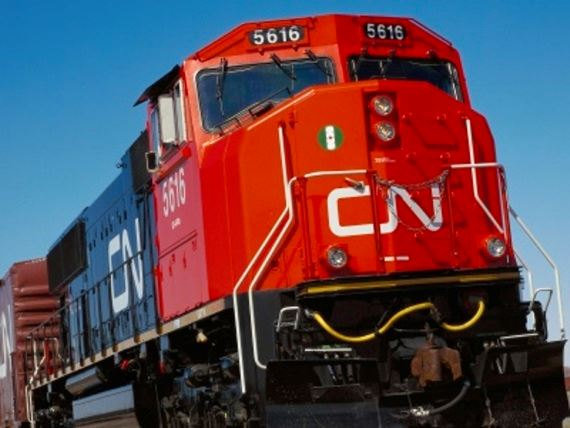 Canadian National locomotive engine