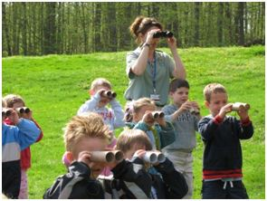 Students Viewing Nature