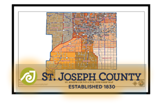 Township Boundary Maps | St. Joseph County, IN